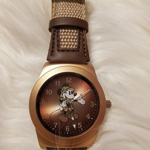 Safari mickey watch
